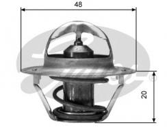 Термостат GATES (t=88°С) для алюминиевого корпуса