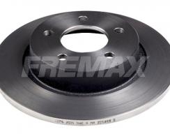 Диск тормозной задний FREMAX