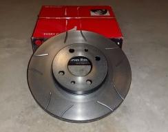 Тормозной диск передний BREMBO (с насечками)