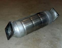 Возвратный сажевый фильтр на BMW X5 (E53)
