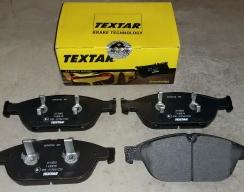 Тормозные колодки передние TEXTAR