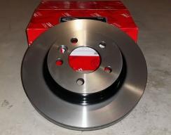 Тормозной диск передний TRW