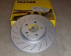 Тормозной диск передний TEXTAR (AMG - спортивный пакет)
