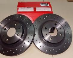Тормозной диск передний BREMBO XTRA