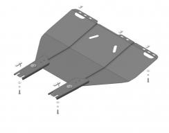 Защита двигателя на FORD FOCUS 2, 3 / C-MAX