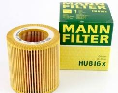 Фильтр масляный MANN (HU816X)