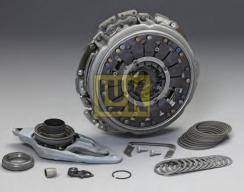 Комплект сцепления INA / LUK для КПП DSG 7-ступ.